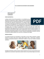 CONTENIDO DE MATEMÁTICA PARA INGENIERÍAS SEMANA 1 LOGICA MATEMATICA