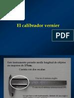 Calibrador Vernier