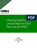 iW1691 UltraSmSize HighEfficiency wDigPwrCtrl