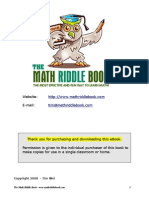 Full Math Riddle Book