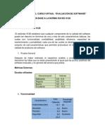 ejemplo evaluación software