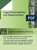 Legal Aspect of Nursing