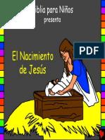 the birth of jesus spanish