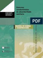171904280 2 522 Martinez Et Al 2001 Sistemas Condominiales Alcantarillado Sanitario Es PDF