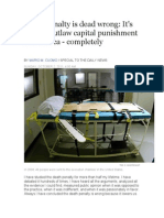 death penalty is dead wrongblog