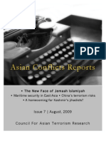 Asian Confilcts Reports | August, 2009