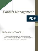 70897 Conflict Management 1