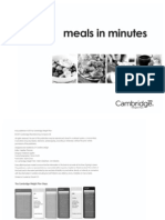 Meals in a Minute
