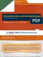 6 Financiamiento Para La Gestion Descentralizada