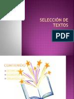 SELECCIÓN DE TEXTOS.pptx