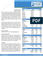 Special Report by Epic Research 29 November 2013