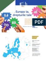 Europa ta, drepturile tale – Ghidul drepturilor și oportunităţilor