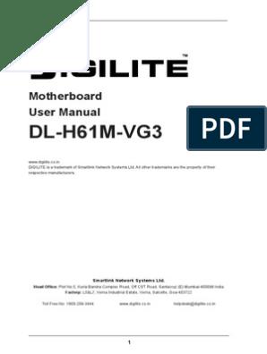 DL-H61M-VG3 | Bios | Floppy Disk