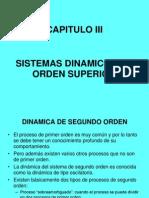 Capitulo III Dinamica de Segundo Orden