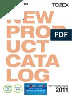 TOREX_New Product Catalog 2011