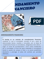 Exposicion de arrendamiento financiero .ppt