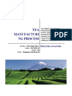 Tea Manufacturing Operations