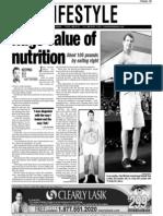 John McCabe, Keeping Fit, Sun Media (Sept. 7, 2006)