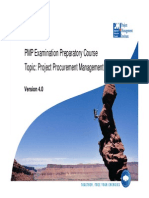 12-PMP Project Procurement Management PMBOK V4 0