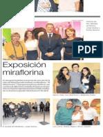 Exposición Miraflorina | El Comercio | 31.Mar.2011. Pp. C15