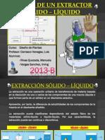 Extractor Solido Liquido