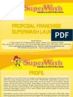 Proposal Kerjasama Bisnis Franchise Waralaba SuperWash Laundry
