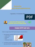 Evaluasi Rdtr Diy