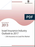 Israel Insurance Insurance Outlook to 2017 – Life Insurance to Lead the Market