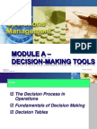 4. Decision-Making Tools