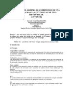 Analisis Del Sistema de Combustion de Una Caldera Marca Continental de Tipo Pirotubular