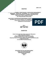 ANALISIS  MANAJEMEN  PENGETAHUAN  KNOWLEDGE MANAGEMENT) BERBASIS   TEKNOLOGI   INFORMASI   (TI)   DALAM KONTEKS PEMBELARAJAN ORGANISASI (LEARNING ORGANIZATION) (Studi Kasus Pada Lembaga Penelitian  dan Pengembangan Pemerintah)