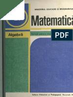 Cls 9 Manual Algebra IX 1988