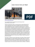 Anarquía profesional y desarme teórico-miguel amoros crtica a bonano