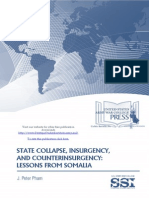 State Collapse, Insurgency, and Counterinsurgency