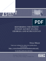 Reforming the Police in Post-Soviet States