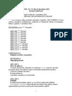 Legea 571-2003 - Codul Fiscal (Produse Energetice)