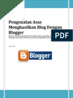 Asas Menghasilkan Blog