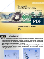 CFX Intro 14.5 WS11 Room Temperature Study