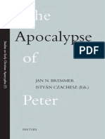 The Apocalypse of Peter Studies on Early Christian Apocrypha  - 2003 ( ed. Jan N. Bremmer, Istvan Czachesz )