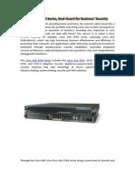 Cisco ASA5540, Best Guard for Enterprise