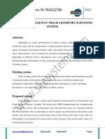 Multi-sensor Railway Track Geometry Surveying System