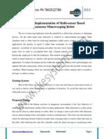 Design and Implementation of Multi-Sensor Based