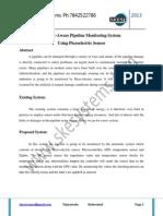 Energy-Aware Pipeline Monitoring System Using Piezoelectric Sensor