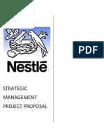 Nestlé Pakistan Ltd project proposal