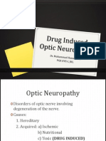 Drug Induced Optic Neuropathy