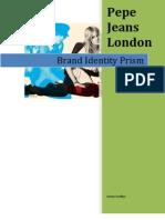 Pepe Brand Identity Prism