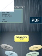 explanation text ppt