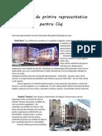 Structuri de primire reprezentative din Cluj
