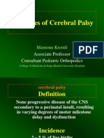 Principles of Cerebral Palsy