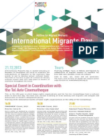 Immigrant Day Flyer Eng